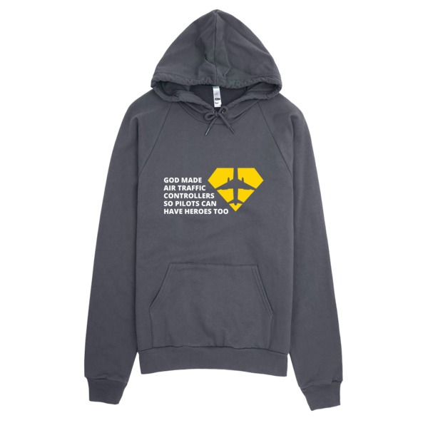 Air Traffic Controller Hoodie Asphalt