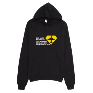 Air Traffic Controller Hoodie Black