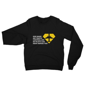 Air Traffic Controller Sweatshirt Black