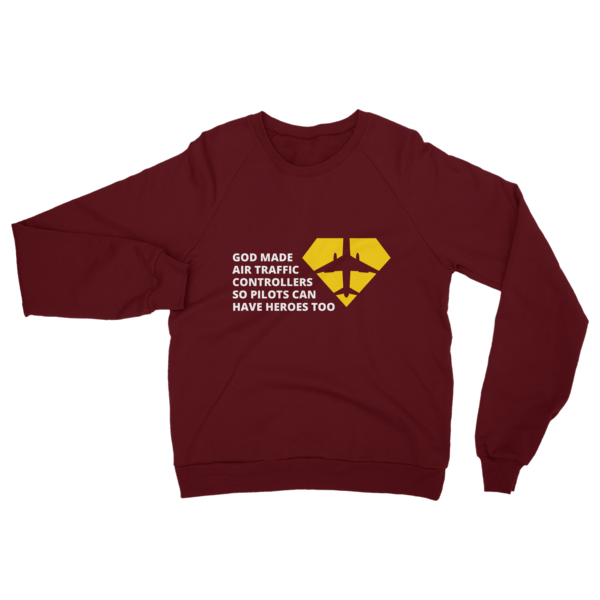 Air Traffic Controller Sweatshirt Truffle