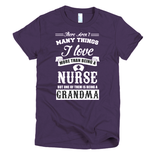 Nurse Grandma T-Shirt For Women