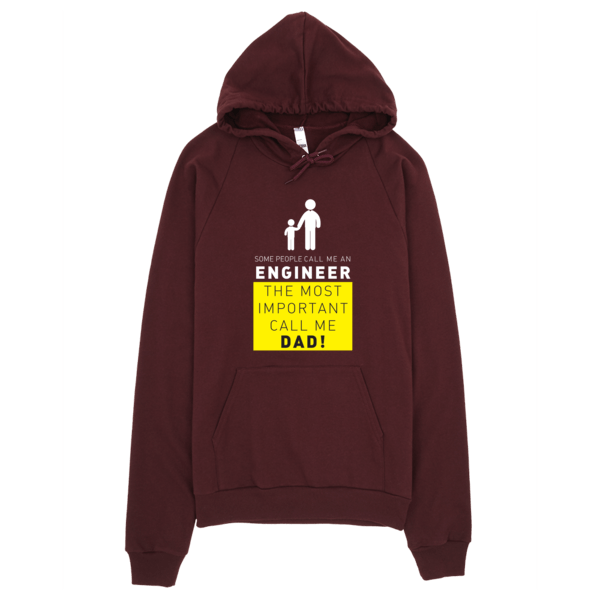 Call Me Engineer Dad Hoodie Truffle