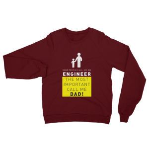 Call Me Engineer Dad Sweatshirt Truffle
