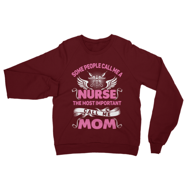 Call Me Nurse Mom Sweatshirt Truffle