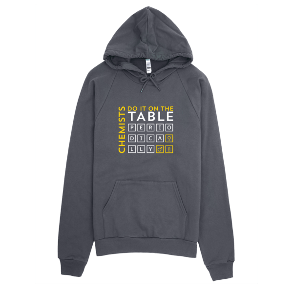 Chemists Do It Periodically Hoodie Asphalt