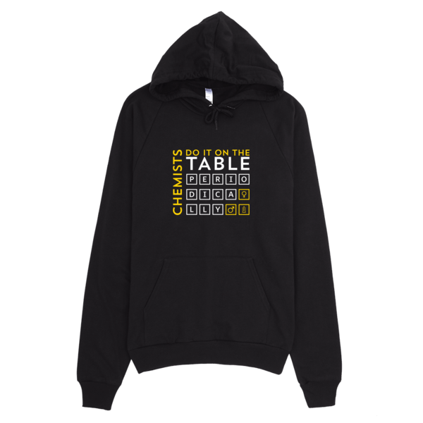 Chemists Do It Periodically Hoodie Black
