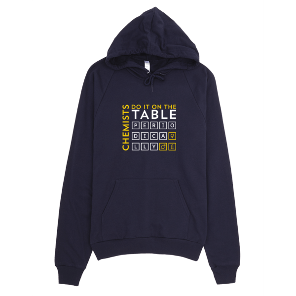 Chemists Do It Periodically Hoodie Navy