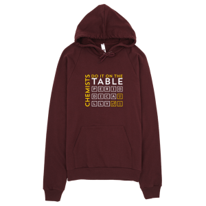 Chemists Do It Periodically Hoodie Truffle