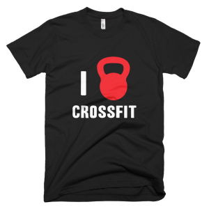 I Love Crossfit - Crossfit T-Shirts