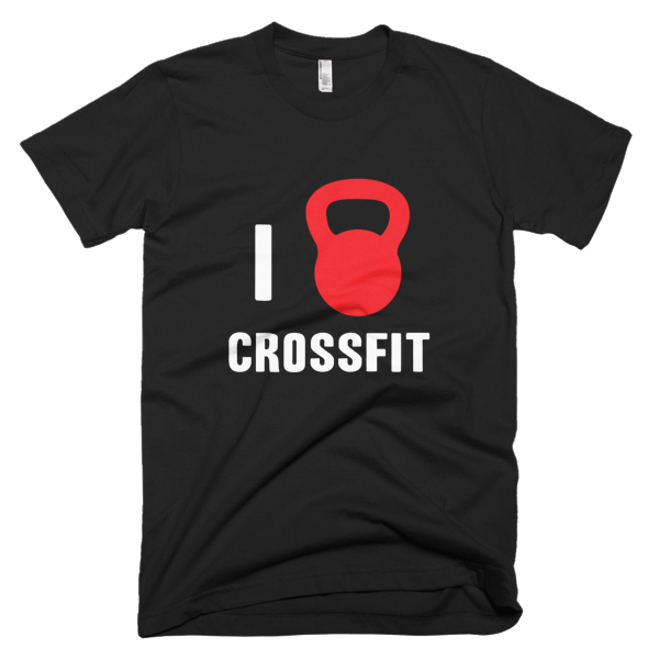 i love crossfit t shirt for men shirterrific. Black Bedroom Furniture Sets. Home Design Ideas