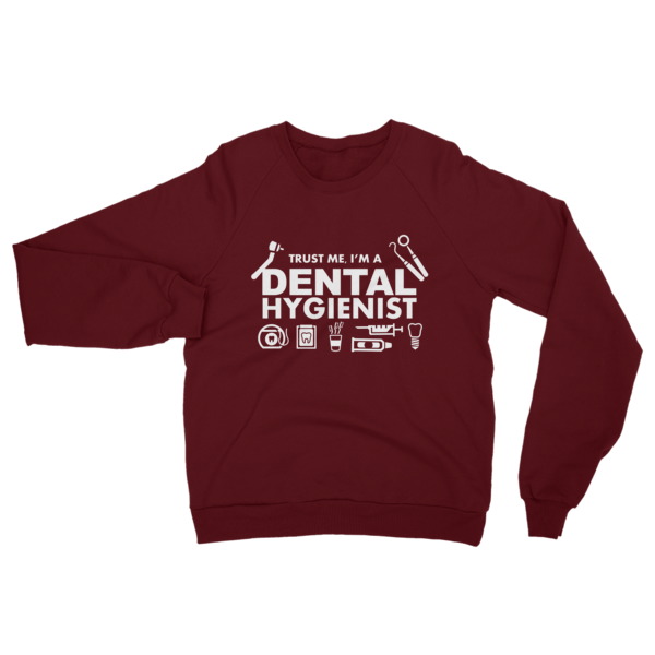 Dental Hygienist Sweatshirt Truffle