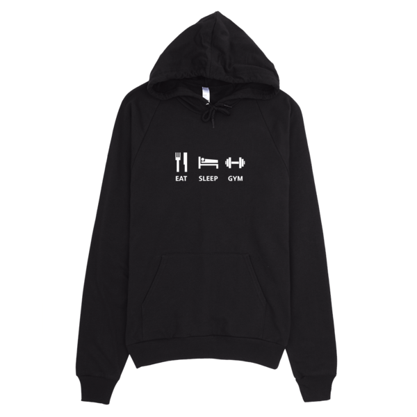 Eat Sleep Gym - Fitness Hoodie