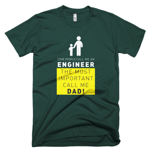 Call Me Engineer Dad - Engineer T-Shirt Design