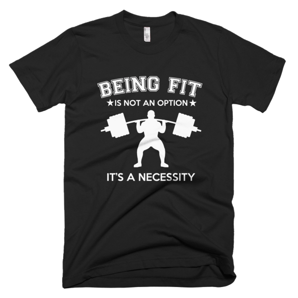 Being Fit - Fitness T-Shirt Designs