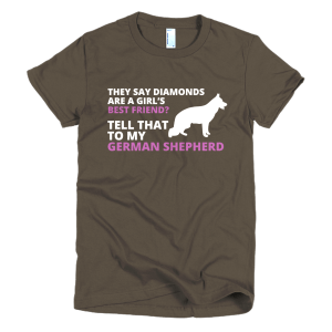 Best Friend - German Shepherd Dog T-Shirt