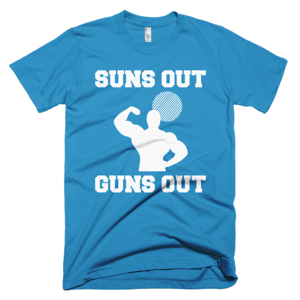 Suns Out Guns Out T-Shirt For Men