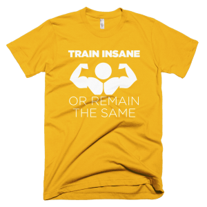 Train Insane - Gym T-Shirts