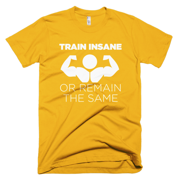 Train Insane T-Shirt For Men
