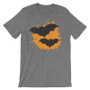 Halloween Bats T-Shirt Deep Heather Unisex