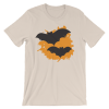Halloween Bats T-Shirt Soft Cream Unisex