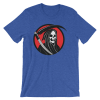 Halloween Grim Reaper T-Shirt Heather True Royal Unisex
