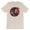 Halloween Grim Reaper T-Shirt Soft Cream Unisex