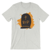 Halloween RIP Tombstone T-Shirt Ash Unisex