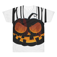 Halloween Spooky Pumpkin T-Shirt White