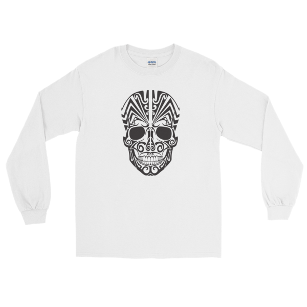 Halloween Tattoo Skull Long Sleeve T-Shirt