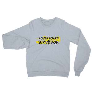 Hoverboard Survivor Sweatshirt Grey