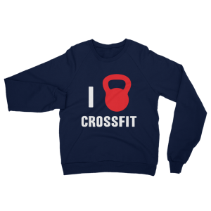 I Love Crossfit Sweatshirt Navy