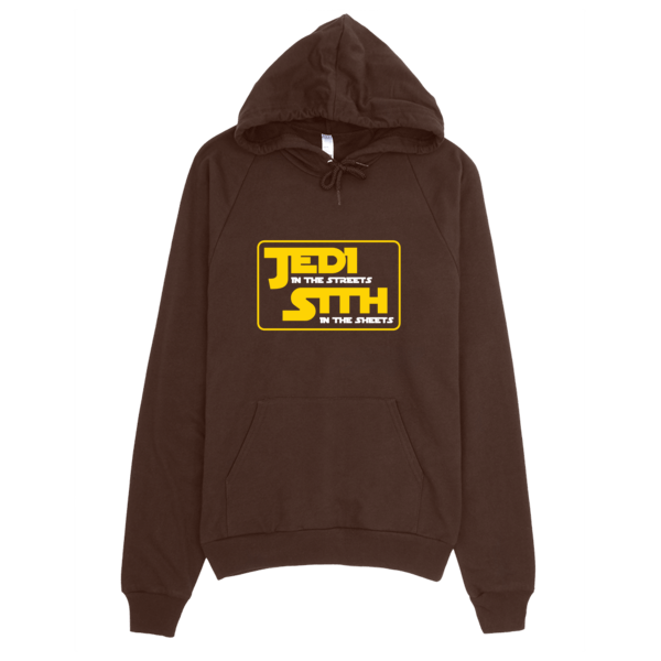 Jedi In The Sheets Hoodie Brown