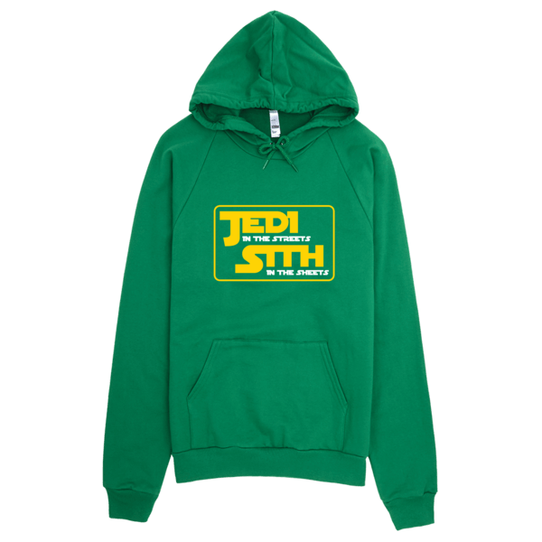 Jedi In The Sheets Hoodie Green