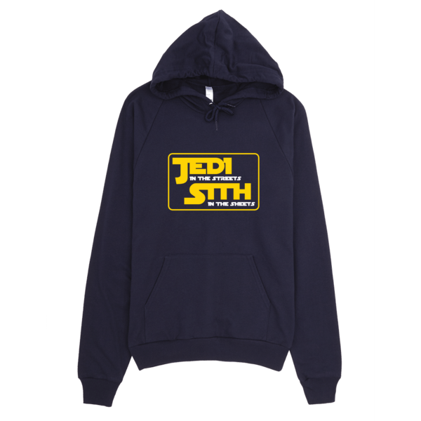 Jedi In The Sheets Hoodie Navy