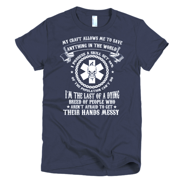 Nurses Get Their Hands Messy T-Shirt For Women