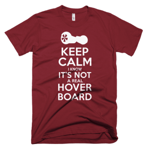 Not A Real Hoverboard - Pop Culture T-Shirts