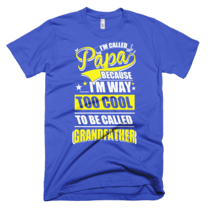 Too Cool Grandfather - Shirts For Papa