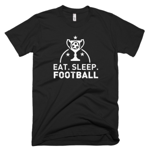 Eat Sleep Football - Soccer Graphic Tees
