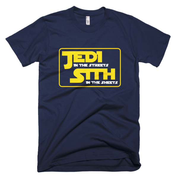 Jedi In The Streets - Star Wars Graphic Tee