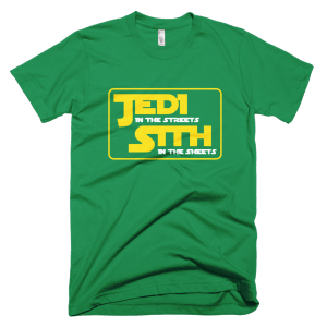 Jedi In The Streets - Star Wars Graphic Tees