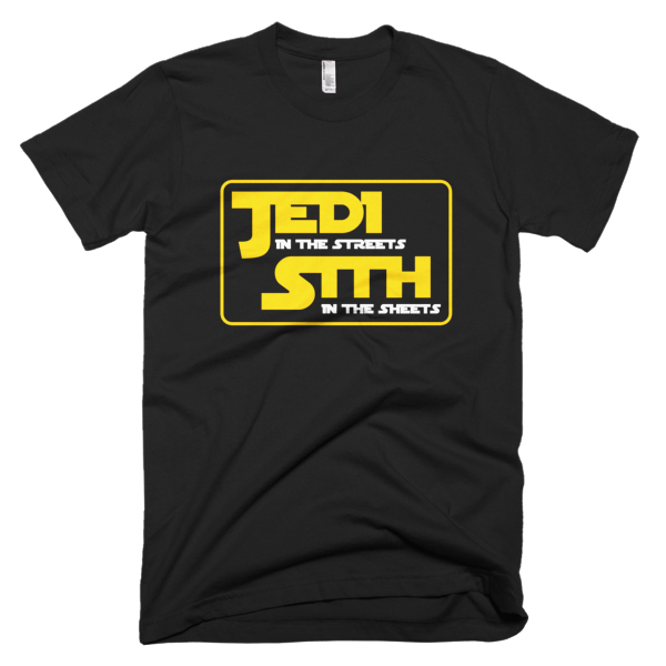 Jedi In The Streets - Star Wars T-Shirts Funny