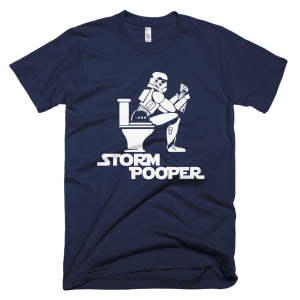 Storm Pooper - Star Wars T-Shirts