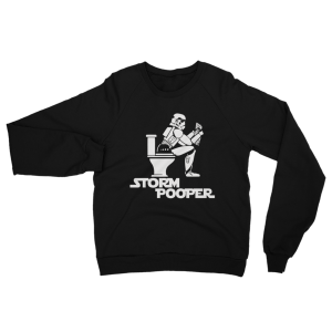 Storm Pooper Star Wars Sweatshirt Black