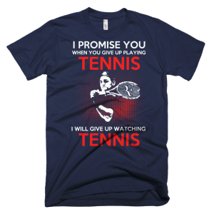 Give Up Promise - Tennis T-Shirt
