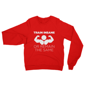 Train Insane Sweatshirt Red