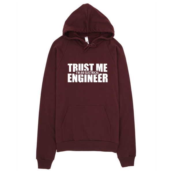 Trust Me I'm An Electrical Engineer Hoodie Truffle