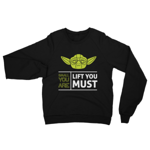 Yoda Sweatshirt Black